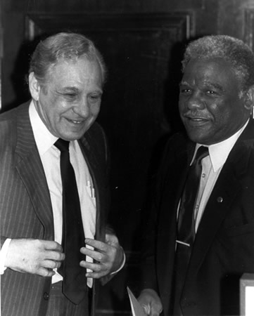 Sid Ordower and Harold Washington